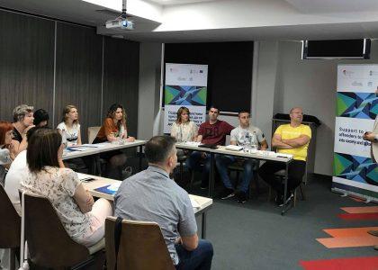 Први национални тренинг за подизање капацитета организација у пружању постпеналне подршке бившим штићеницима Васпитно-поправног дома Крушевац