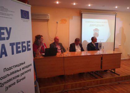 """EУ пројекат """"Подстицање запошљавања младих у Дунавском региону јужне Бачке"""" за бољу запошљивост младих"""