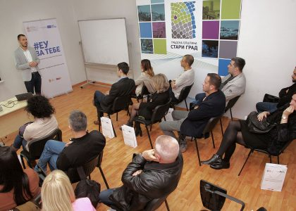 "EU Project ""Turnover – Youth educational center"" for promotion of sustainable youth employment"
