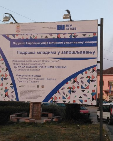 """EU Project """"Supporting Youth Employability"""" for social and work activation of young people"""
