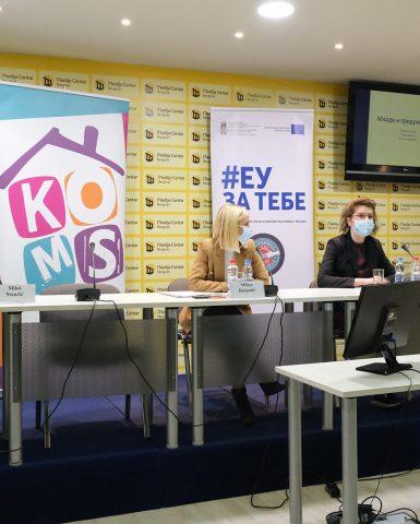 """ЕУ пројекат """"Наша заједница, наша будућност – Већа сарадња и запошљавање младих"""" за боље разумевање незапослености младих"""